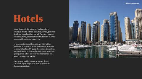 Dubai Evolution PPT Background Images_23