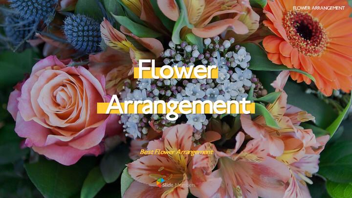 Flower Arrangement PowerPoint Presentations_01