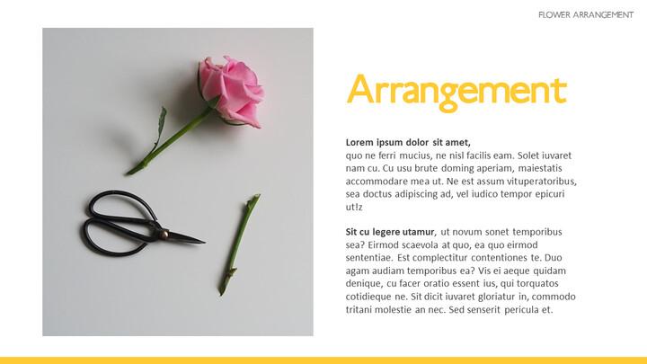 Flower Arrangement PowerPoint Presentations_02
