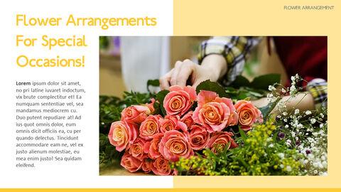 Flower Arrangement PowerPoint Presentations_04