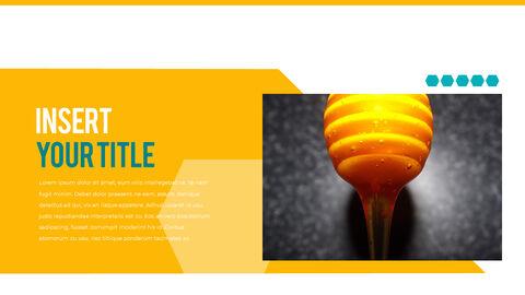 허니비(꿀벌) 간단한 디자인 템플릿_26