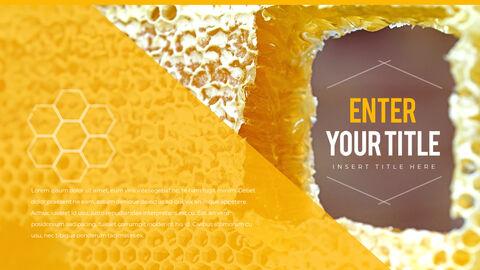 허니비(꿀벌) 간단한 디자인 템플릿_27