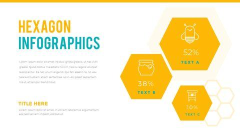 허니비(꿀벌) 간단한 디자인 템플릿_30