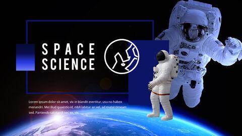 우주 과학 파워포인트 프레젠테이션 예제_35