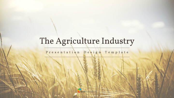 The Agriculture Industry Background PowerPoint_01