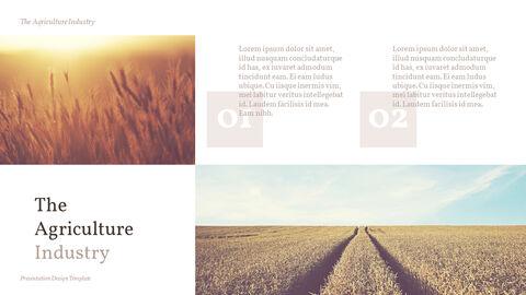 농업 산업 배경 파워포인트_18