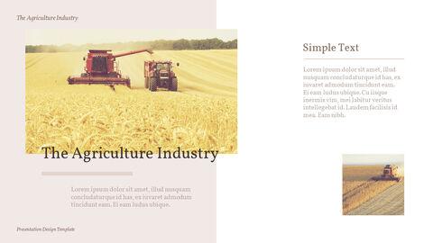 농업 산업 배경 파워포인트_23