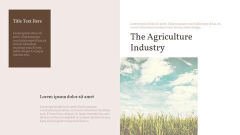 농업 산업 배경 파워포인트_28