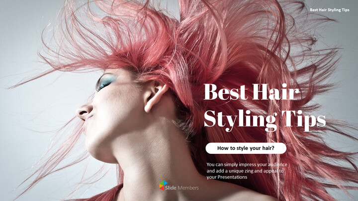 Best Hair Styling Tips PowerPoint Format_01