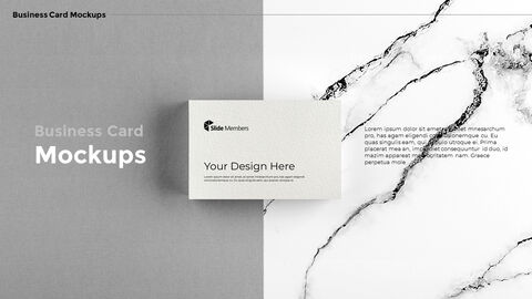Business Card Mockups Modern PPT Templates_04