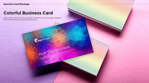 Business Card Mockups Modern PPT Templates_05