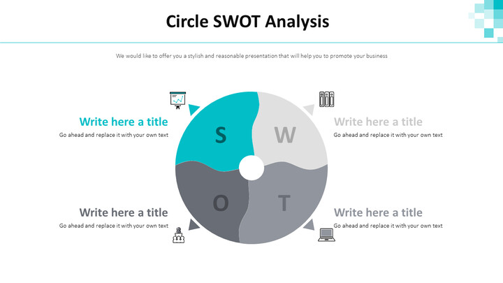 Circle SWOT 분석 다이어그램_01