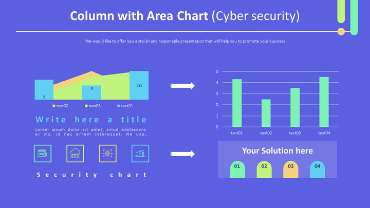 Column with Area Chart (Cyber security)_01