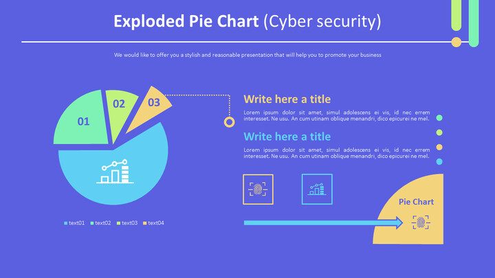 Exploded Pie Chart (Cyber security)_01