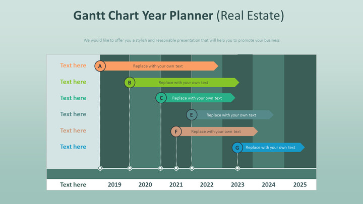 Gantt Chart Year Planner Diagram (Real Estate)_02
