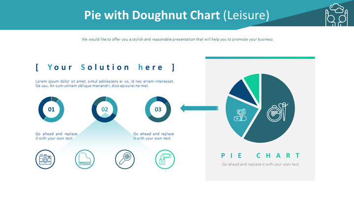 Pie with Doughnut Chart (Leisure)_01
