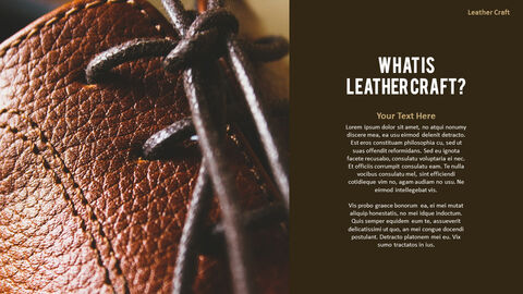 What Is The Best Leather Crafting Outline PPT Presentation_03