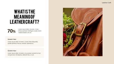 What Is The Best Leather Crafting Outline PPT Presentation_05