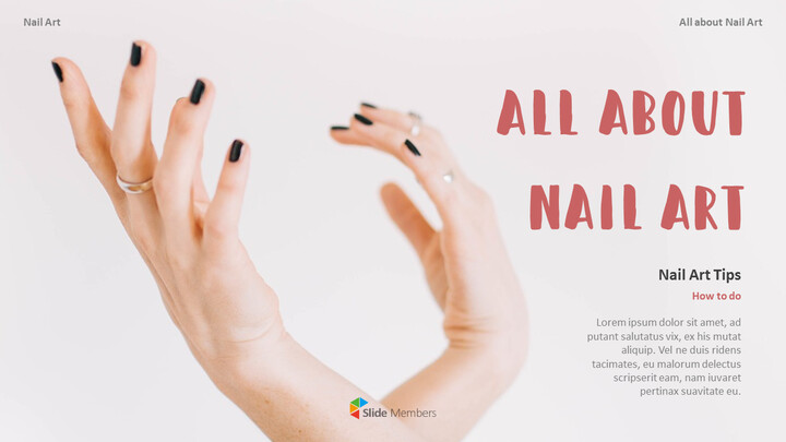 All About Nail Art Action plan PPT_01