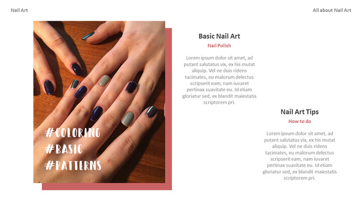 All About Nail Art Action plan PPT_02