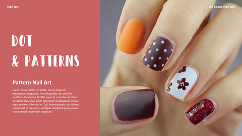 All About Nail Art Action plan PPT_03