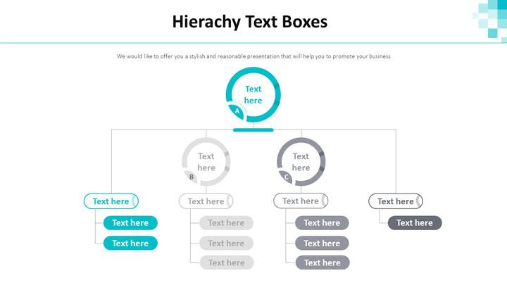 Hierachy Text Boxes Diagram_01