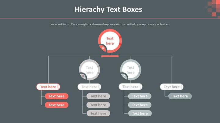 Hierachy Text Boxes Diagram_02