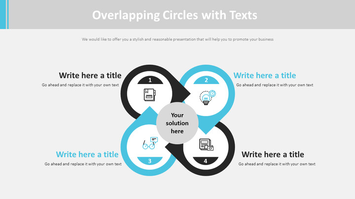 Overlapping Circles with Texts Diagram_02