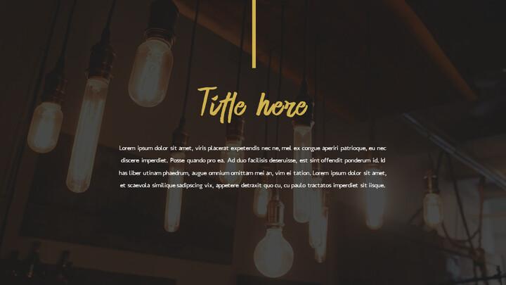 레스토랑 PPT 테마 슬라이드_02