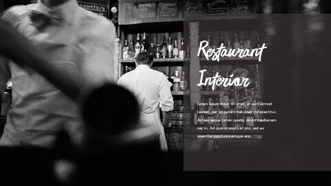 레스토랑 PPT 테마 슬라이드_04