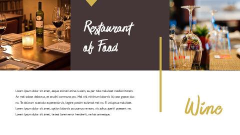 레스토랑 PPT 테마 슬라이드_09