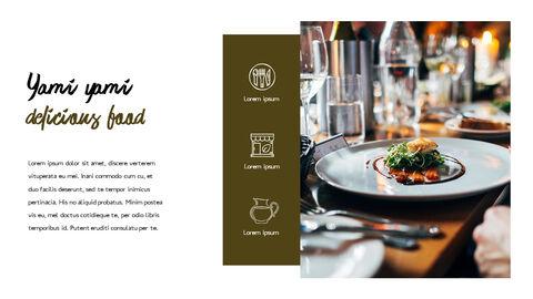 레스토랑 PPT 테마 슬라이드_05