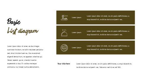 레스토랑 PPT 테마 슬라이드_19