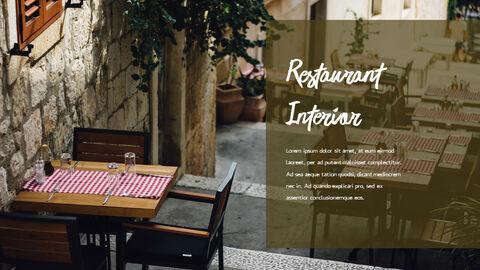 레스토랑 PPT 테마 슬라이드_22