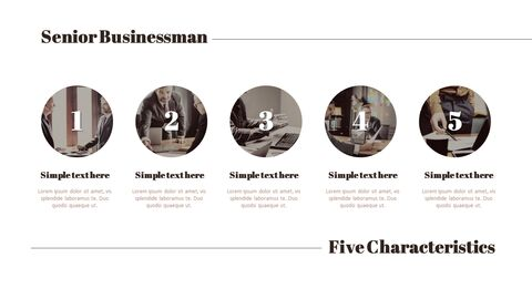 시니어 비즈니스맨 간단한 디자인 템플릿_09