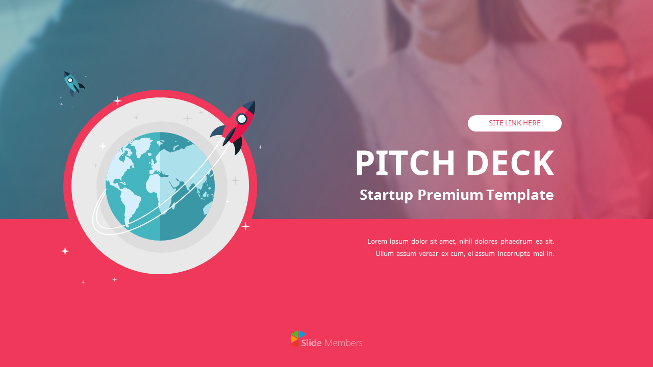 Startup Premium Flat Design Template Templates Ppt