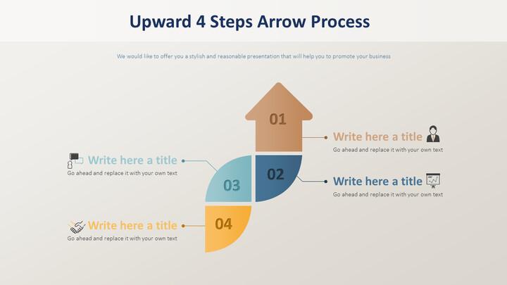 위쪽 4 단계 화살표 프로세스 다이어그램_02