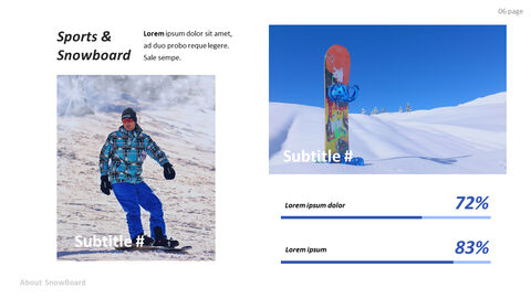 Basic Tips & Tricks About Snowboard PPT Design Templates_02