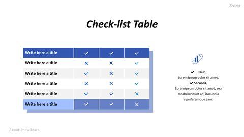 스노우 보드에 대한 기본 팁 및 유용한 정보 PPT 디자인 템플릿_33
