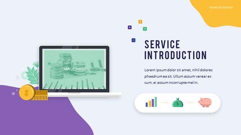 금융 서비스 그룹 디자인 슬라이드 비즈니스 프리젠테이션_07