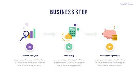 금융 서비스 그룹 디자인 슬라이드 비즈니스 프리젠테이션_09