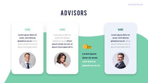 금융 서비스 그룹 디자인 슬라이드 비즈니스 프리젠테이션_05