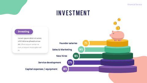 금융 서비스 그룹 디자인 슬라이드 비즈니스 프리젠테이션_14