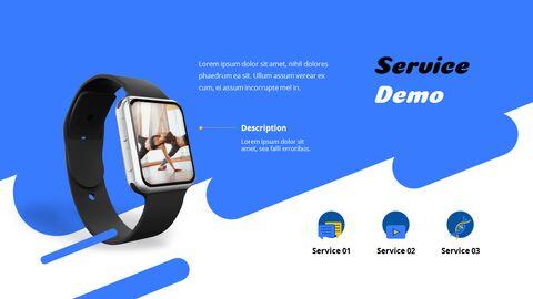 휘트니스 및 헬스케어 관리 서비스 제안 테마 프레젠테이션 템플릿_10