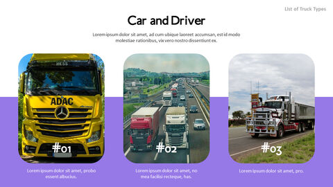 List of Trucks PPT Backgrounds_03