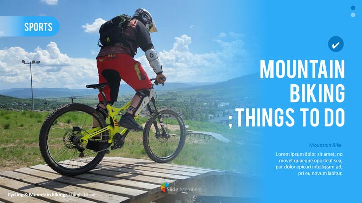 산악 자전거 파워포인트 프레젠테이션 디자인_01