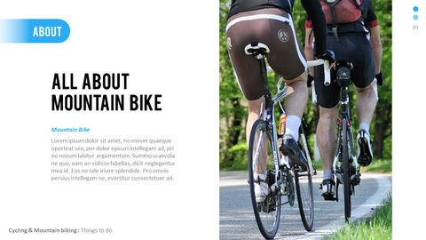 Mountain Biking PowerPoint Presentation Design_02