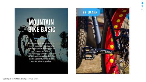 산악 자전거 파워포인트 프레젠테이션 디자인_07