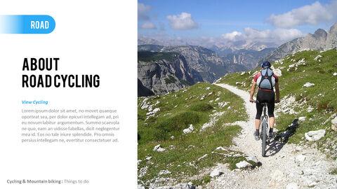 산악 자전거 파워포인트 프레젠테이션 디자인_09