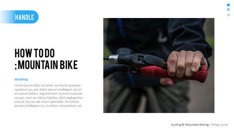 산악 자전거 파워포인트 프레젠테이션 디자인_18
